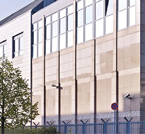 Data processing centre Deutsche Börse, Frankfurt